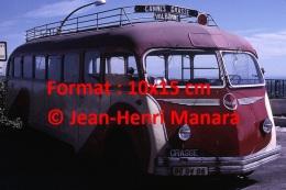 Reproduction D 'une Photographie D'un Ancien Bus Isobloc Ligne Cannes Grasse Valbonne En 1967 - Reproductions