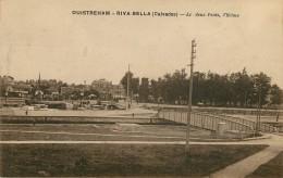 Dép 14 - Ecluses - Ouistreham - Riva Bella - Les Deux Ponts , L'écluse - 2 Scans - état - Ouistreham