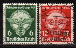 DEUTSCHES REICH 1939 - MiNr: 689-690 Komplett Used - Deutschland