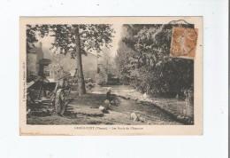 GRAND PONT (VIENNE) 12112  LES BORDS DE L'AUZANCE 1929 - Autres Communes