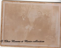 1901 - BORDEAUX - DESILLE - GIRONDE - PHOTO SUR SUPPORT CARTONNE - Personnes Identifiées