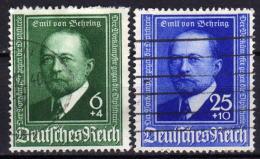 DEUTSCHES REICH 1940 - MiNr: 760-761  Used - Deutschland