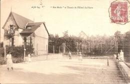 """VER - Sur - MER  -  """" Ker Maria """" Et Tennis De L'Hôtel Du  Phare - France"""