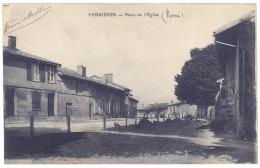 Cpa Verrières - Place De L'église - France