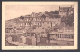 VEULES LES ROSES - Villa Victor Hugo Et Le Château Rouge - Veules Les Roses
