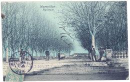 Cpa Marseillan - Esplanade - Marseillan