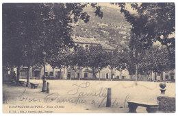 Cpa St Hippolyte Du Fort - Place D'Armes - France