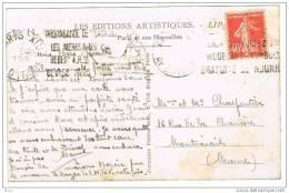 O.MEC KRAG PARIS XIII PROPAGANDE SAUVONS LES MERES SUR CPA - Marcophilie (Lettres)