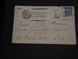 ROUMANIE -.Enveloppe De Bucarest Pour La France En 1924 - A Voir - L 1009 - Poststempel (Marcophilie)