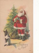 Père  Noël - Christmas Joys ( Carte Ancienne ) - Natale