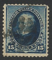 United States, 15 C. 1890, Sc # 227, Mi # 69, Used - Used Stamps