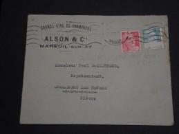 FRANCE -.Enveloppe De Mareuil Sur Ay Le 21/09/48 Pour La Nièvre, Affranchissement Gandon - A Voir - L 1015 - Postmark Collection (Covers)