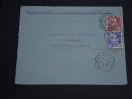 FRANCE -.Enveloppe De Maureilhan Pour Coulanges Les Nevers Le 21/9/1948 , Affranchissement Gandon - A Voir - L 1024 - Postmark Collection (Covers)