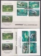 Samoa 1997  Dolphins Greenpeace 4v  + M/s 2 FDC (GPFDC102) - Samoa