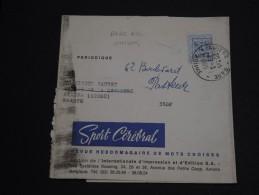 BELGIQUE - Bande Journal Commerciale De Anvers Avec Oblitération Française Sur Préoblitéré En 1965  - A Voir - L 1029 - Typo Precancels 1951-80 (Figure On Lion)