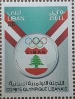 Liban NOUVEU 2016 ** - JEUX OLYMPIQUES RIO DE JANEIRO 2016 - COMITE OLYMPIQUE LIBANAIS - MNH - Lebanon