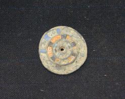 ROMAN FIBULA WITH NIELO WITHOUT NEEDLE GOOD PATINA, II C.A.D. RARE - Archéologie