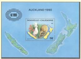 Nouvelle Caledonie:Yvert  N° BF 10**; MNH; Carte; Fleurs; Cagou; Kiwi - Blokken & Velletjes
