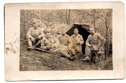Carte Photo Abri En Forêt Non Situé - War 1914-18