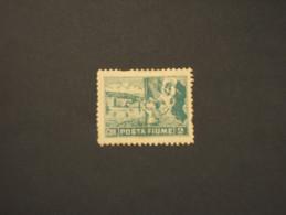 FIUME - 1919 VEDUTA 2 Cor.(difettoso) - NUOVO(+) - Fiume