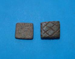 2 ROMAN EXAGIUM SOLIDI, II C.A.D. RARE - Archéologie