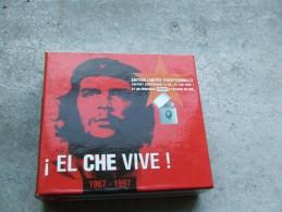 COFRET CD CHANSON CHE GUEVARA + Zippo  Effigie Du Che N° Serie Limitée - Collectors