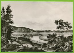 HÖXTER A. D. Oberweser - Blick Von Der Bosseborner Warte Stietz 1836 Echt Foto - Hoexter
