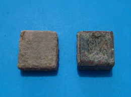 2 BIG ROMAN EXAGIUM SOLIDI, I C.A.D. - Archéologie