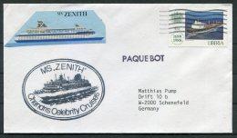 Liberia MS ZENITH Paquebot Ship Cover - Liberia