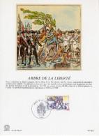 """FRANCE 1991 : Encart Philatélique 1er Jour De 1991 """" ARBRE DE LA LIBERTE """" N° YT 2701."""