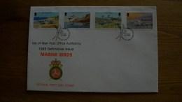 S05.08.4.ISLA DE MAN.FDC.1983.YV-241/4-13,00 EUR - Albatro & Uccelli Marini