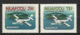 NIUAFO´OU 1983 AIRCRAFT SET MNH - Vliegtuigen