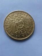 GOLD 20 MARK DEUTCHES  REICH 1902 A - [ 2] 1871-1918 : German Empire