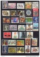 Grande-Bretagne - Petite Collection De Modernes Oblitérés ( Voir Cinq Pages D'album ) - Grande-Bretagne