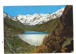 Q2805 CARTOLINA Della VALLE D'AOSTA, BIONAZ, Lago Artificiale Di Place Moulin, Sfondo Dent D' Herens E Grandes Murailles - Altre Città