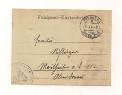 Feldpost-Kartenbrief Samt Inhalt 21.5.1943 Nach Mauthausen Oberdonau - Deutschland