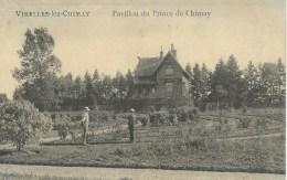 VIRELLES-LEZ-CHIMAY  : Pavillon Du Prince De Chimay - Cachet De La Poste 1920 - Chimay