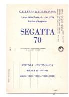 Q2864 MARCOFILIA, MOSTRA ANTOLOGICA GALLERIA HAUSAMMANN DI CORTINA D'AMPEZZO ( BELLUNO ) - Altre Città