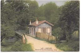 CRETEIL - Entrée De L'Ile Sainte Catherine - Creteil