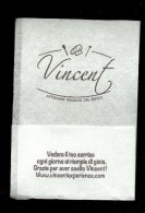 Tovagliolino Da Caffè - Caffè Gelateria Vincent - Tovaglioli Bar-caffè-ristoranti
