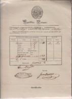 B)1852 PERU, MAIL VAPOR, MARITIME ITINERARIES, VAPOR CANCELLATION,  XF - Peru