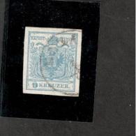 Austria1850: Michel 5 Ia(Ferchenbauer Signed) Cat.Value$20 - Usados