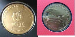 Malaysia 2016 1 Ringgit WORLD TEAM TABLE TENNIS Nordic Gold BU Coin Card - Malaysia