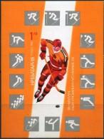 Bulgaria, 1987, Mi. 3621 (bl. 175B), Sc. 3294, SG 3479, Winter Olympic Games, Calgary, MNH - Blocks & Sheetlets