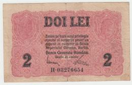 ROMANIA 2 LEI 1917 VG+ Pick M4 - Rumania