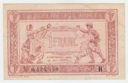 FRANCE 1 FRANC TRESORERIE AUX ARMEES 1917 AVF Pick M2 - Schatkamer