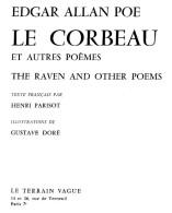 Edgar Allan Poe  -  Le Corbeau  -  Et Autres Poemes - The Raven And Other Poems - Texte Francais Par Henri Parisot - Poesie