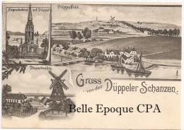 Denmark - DÜPPEL - GRUSS Von Den DÜPPELER SCHANZEN - Düppelmühle / Düppelfeld +++++++ 12,70 Cm X 9 Cm +++ - Dänemark
