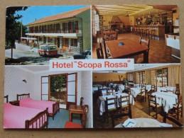 "Hôtel "" SCOPA ROSSA "" EVISA Corse ( Scoppa Rossa) Anno 19?? ( Zie Foto Voor Details ) !! - Otros Municipios"