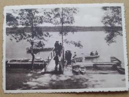Lac De VIRELLES Embarcadère () Anno 19?? ( Zie Foto Voor Details ) !! - Chimay